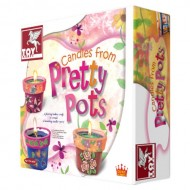 Toy Kraft Candles From Pretty Pots