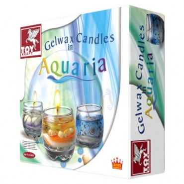 Toy Kraft Gelwax Candles In Aquaria