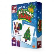 Toy Kraft Sand Art Christmas Cards