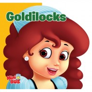 Goldilocks Cutout Board Book Om Books