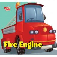 Fire Engine Cutout Board Book Om Books