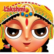Lakshmi Cutout Board Book Om Books