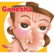 Ganesha Cutout Board Book Om Books
