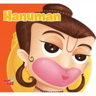 Hanuman Cutout Board Book Om Books