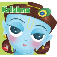 Krishna Cutout Board Book Om Books