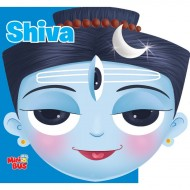 Shiva Cutout Board Book Om Books