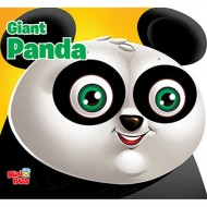 Giant Panda Cutout Board Book Om Books