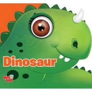 Dinosaur Cutout Board Book Om Books