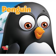 Penguin Cutout Board Book Om Books