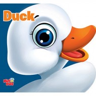 Duck Cutout Board Book Om Books