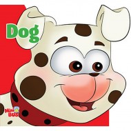 Dog Cutout Board Book Om Books