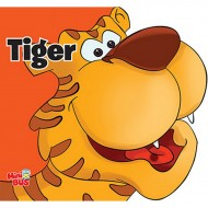 Tiger Cutout Board Book Om Books