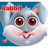 Rabbit Cutout Board Book Om Books