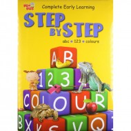Step By Step Abc 123 Colours Padded Book Om Books