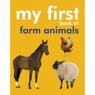 My First Book Of Farm Animals Padded Board Book Om Books