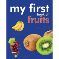 My First Book Of Fruits Padded Board Book Om Books