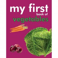 My First Book Of Vegetables Padded Board Book Om Books