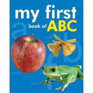 My First Book Of Abc Padded Board Book Om Books