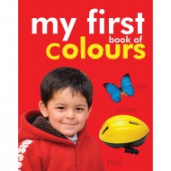 My First Book Of Colours Padded Board Book Om Books