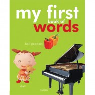 My First Book Of Words Padded Board Book Om Books