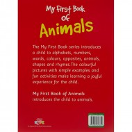 My First Book Of Animals Paperback Om Books