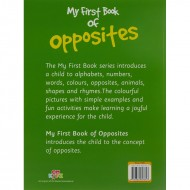 My First Book Of Opposites Paperback Om Books