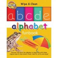 Wipe & Clean Alphabet Funbook Spiral Bound With Pen Om Books