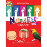 Wipe & Clean Numbers Funbook Spiral Bound With Pen Om Books