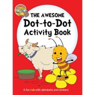 The Awesome Dot to dot Activity Book Binder Paperback Om Books