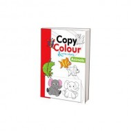 Copy Colour And Write Along Animals Paperback Om Books