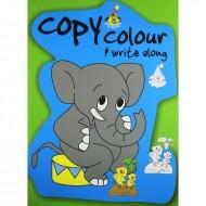 Big Copy Colour And Write Along Binder Paperback Om Books