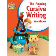The Amazing Cursive Writing Workbook Binder Paperback Om Books