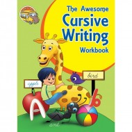 The Awesome Cursive Writing Workbook Binder Paperback Om Books