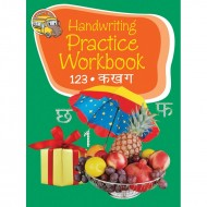 Handwriting Practice Workbook 123 Ka Kha Ga Binder Paperback Om Books