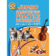 Jumbo Handwriting Practice Workbook Abc Abc 123 Ka Kha Ga Paperback Om Books