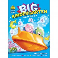 Big Kindergarten Wrorkbook Paperback Om Books