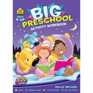 Big Preschool Workbook Ages 4Up Paperback Om Books