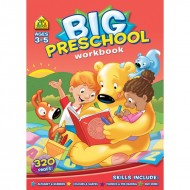 Big Preschool Workbook Ages 35 Paperback Om Books