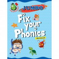 Jumbo Fix Your Phonics Workbook Binder Paperback Om Books