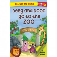 Deeg And Doop Go To The Zoo Paperback Om Books