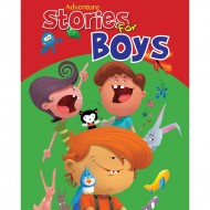 Adventure Stories For Boys Jumbo Padded Book Om Books