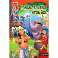 5 Minute Panchtantra Stories Hardback Om Books