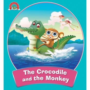 The monkey and the crocodile.