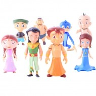 Chhota Bheem 8 in 1 Set With Arjun Action Figure
