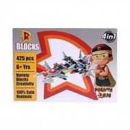Chhota Bheem Mighty Raju Star Wars Blocks 425 pcs