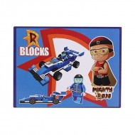 Chhota Bheem Mighty Raju Racing Car Blocks 106 pcs