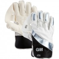 GM 606 Cricket Wicket Keeping Gloves - Standard Size