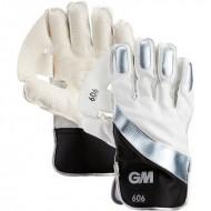 GM 606 Cricket Wicket Keeping Gloves - Standard Size