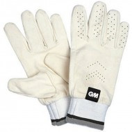 GM Full Chamois Cricket Leather Inner Gloves - Standard Size
