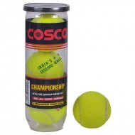 Cosco Championship Tennis Balls - Can of 3 Balls